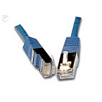 InLine 76450B FTP- CAT.6 Patchkabel 0.5m blau