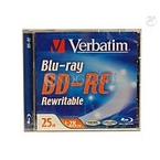 25GB Verbatim 2x BD-RE