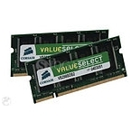 8GB Corsair ValueSelect Kit CMSO8GX3M2A1333C9 SO DDR3