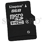 8GB Kingston SDC4/8GB microSD