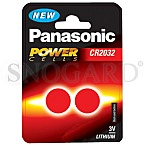 Panasonic CR2032 Cell Power Knopfzellen