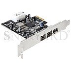 DeLock 89153 PCIe 3 Port FireWire