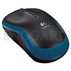 Logitech M185 Wireless Notebook Mouse Blue