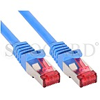 InLine 76411B S/FTP CAT6 Patchkabel 1m blau
