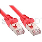 InLine 72503R S/FTP CAT5e Patchkabel 3m rot