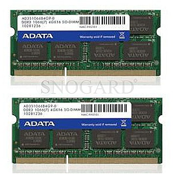 16GB A-Data AD3S1600W8G11-2 SO DDR3 Premier Kit