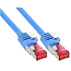 InLine 76422B S/FTP CAT6 Patchkabel 25cm blau