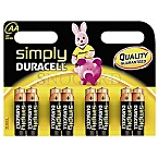 Duracell Simply MN1500 Mignon 8er Pack
