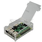 Raspberry Pi+ Clear Case transparent (RB-CASE+01)