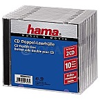 Hama CD Double Box 10er Jewel-Case                 44747