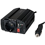 LogiLink Power Inverter, 120W Portable Car Power Inverter USB