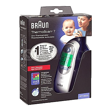 Braun IRT 6520 Thermoscan 7 Ohr-Thermometer
