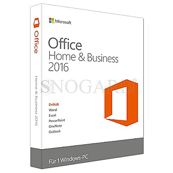 Microsoft Office Home and Business 2016 PKC