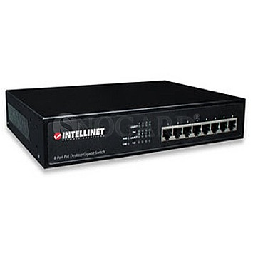 Intellinet 8-Port PoE+ Desktop Gigabit Switch