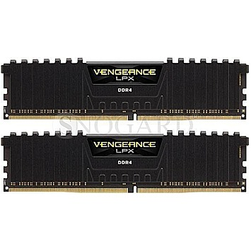 32GB Corsair CMK32GX4M2B3000C15 Vengeance LPX DDR4-3000 Kit Black