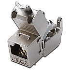 Digitus DN-93615 Keystone Jack Cat6a, RJ45, geschirmt, Metall