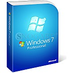 Microsoft Windows 7 Professional 64bit UK SP1 englisch!