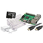 Raspberry Pi 3 B 1GB W-LAN Starter Kit 32GB mSDHC 1.5m HDMI-Kabel transparent