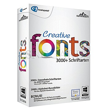 Avanquest ESD Creative Fonts 5