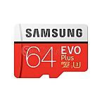64GB Samsung microSDXC EVO Plus (2017) Kit U