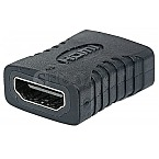 Manhattan HDMI Kupplung / Adaptor Black