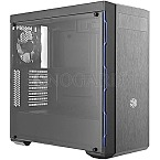 CoolerMaster MasterBox MB600L Window black/blue