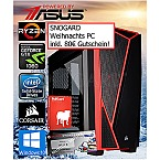 Weihnachts PC AMD 1500X-M2-GTX1060 Powered by ASUS