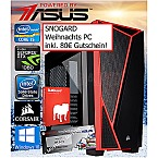 Weihnachts PC INTEL i5-7500-M2-GTX1060 Powered by ASUS