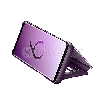 Samsung Clear View Standing Cover Galaxy S9 Violett