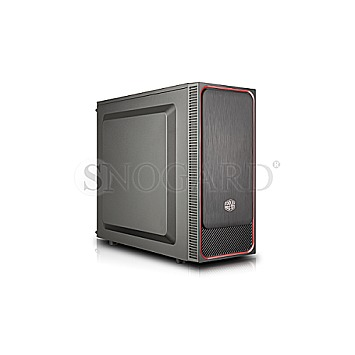 CoolerMaster MasterBox E500L schwarz/rot