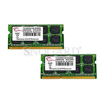 8GB G.Skill F2-6400CL6D-8GBSQ DDR2-800 SQ Series Kit