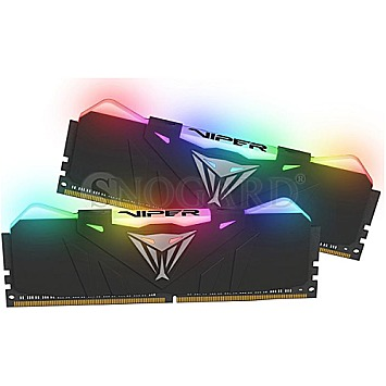 16GB Patriot PVR416G300C5K Viper RGB DDR4-3000 Kit Black