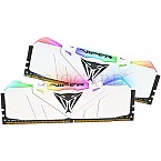 16GB Patriot PVR416G320C6KW Viper RGB DDR4-3200 Kit White