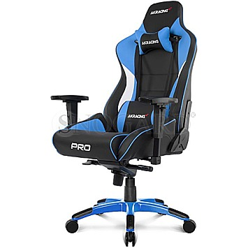 AKRACING Master PRO Black/Blue Gaming Chair schwarz/blau