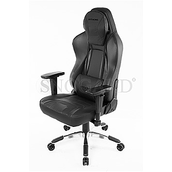 AKRACING Obsidian Carbon/Black Office Chair schwarz/carbon