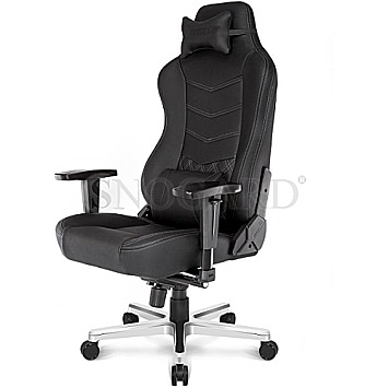AKRACING Onyx Deluxe Black Office Chair schwarz