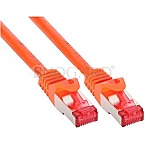 InLine S/FTP Cat6 5m orange