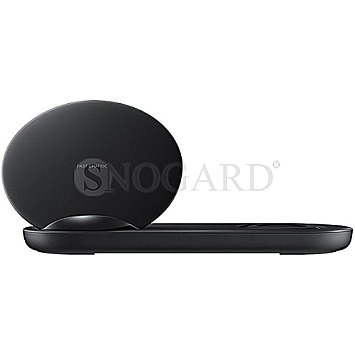 Samsung EP-N6100TB Wireless Charger Duo schwarz