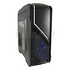 LC-Power 979B Silver Strike LED Gaming Window Black