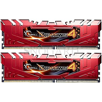 16GB G.Skill F4-2666C15D-16GRR DDR4-2666 RipJaws 4 Red Kit