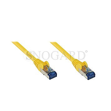 Good Connections RNS Patchkabel S/FTP CAT6A 1m gelb