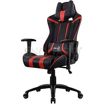 AeroCool AC120 AIR Gaming Chair schwarz/rot