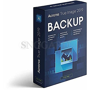 Acronis True Image 2019 BOX 5PC deutsch Minibox