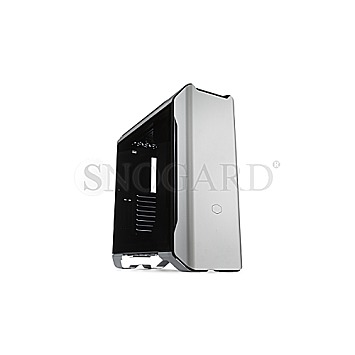 CoolerMaster MasterCase SL600M Tempered Glass Silver