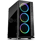 Inter-Tech W-III RGB Window Black