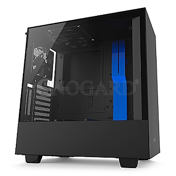 NZXT H500i RGB Window Edition black/blue
