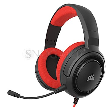 Corsair H35 Stereo Headset Red