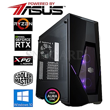 GamingLine R5-2600-SSD-RTX2060 Powered by ASUS
