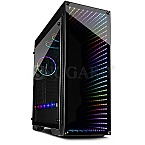 Inter-Tech X-908 Infini2 Window RGB Black