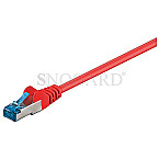 Goobay 93745 CAT6 S/FTP 2m Patchkabel rot